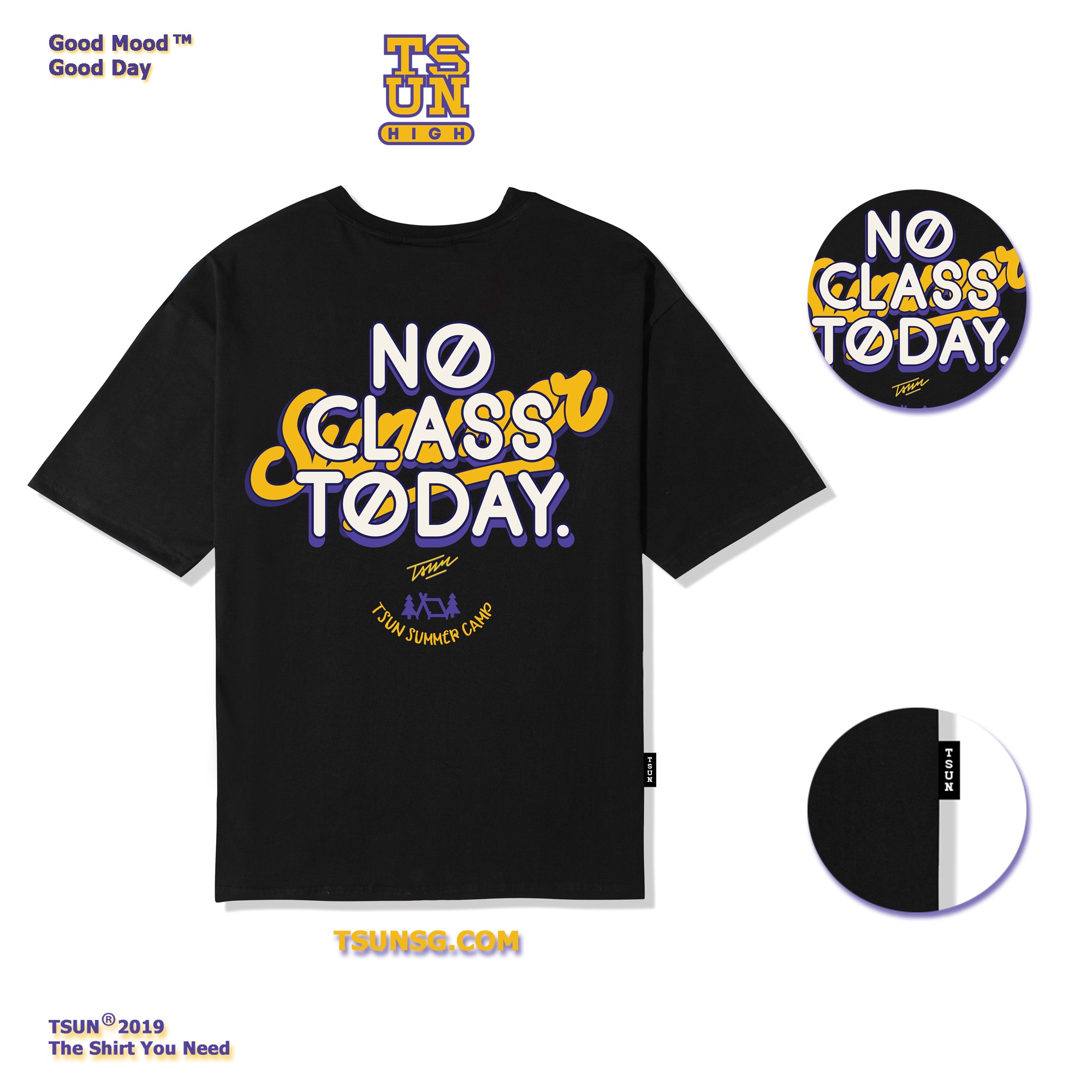 No Class Today (Black)