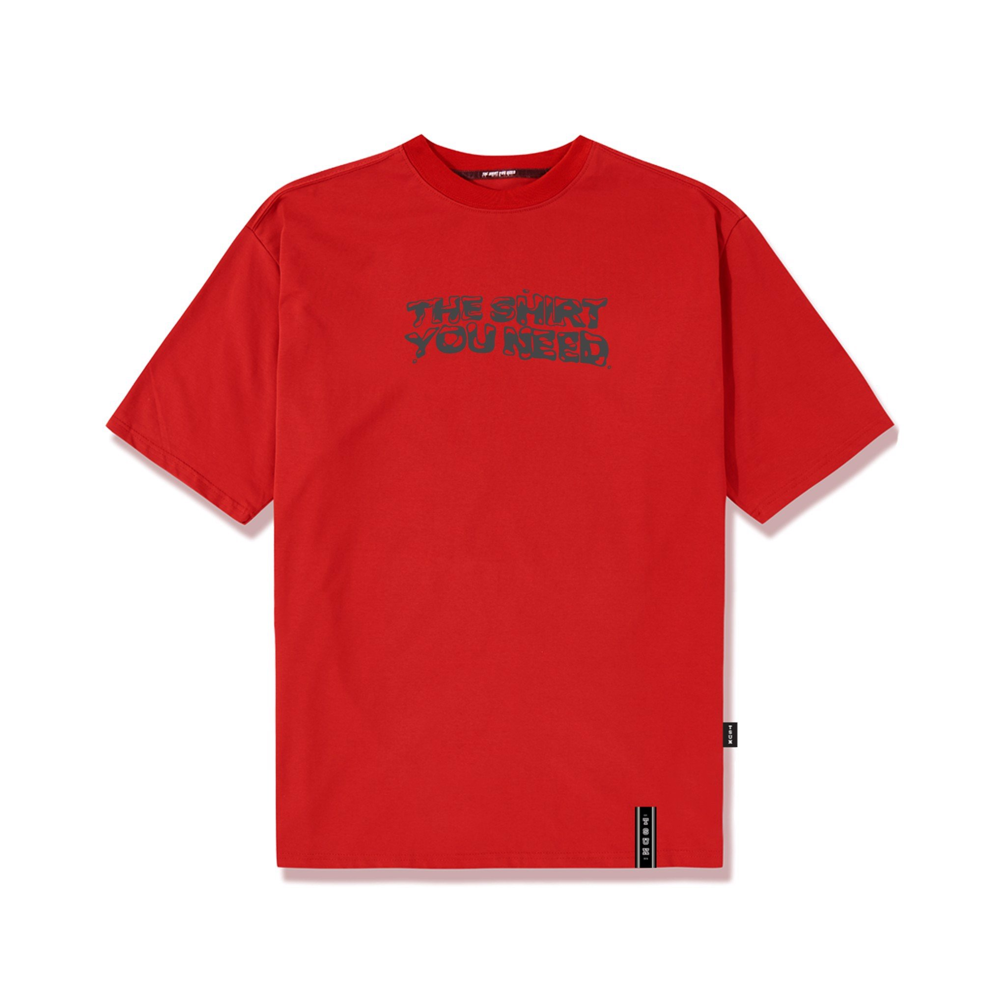 Reflective Tee/Red
