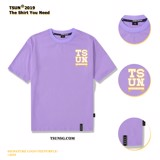 SIGNATURE LOGO TEE/PURPLE