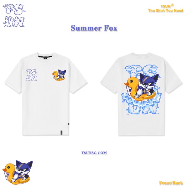 Summer Fox - White
