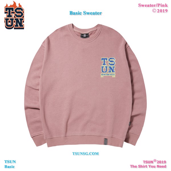 Basic Sweater - Pink