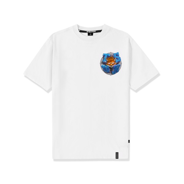 King Fox Tee - White