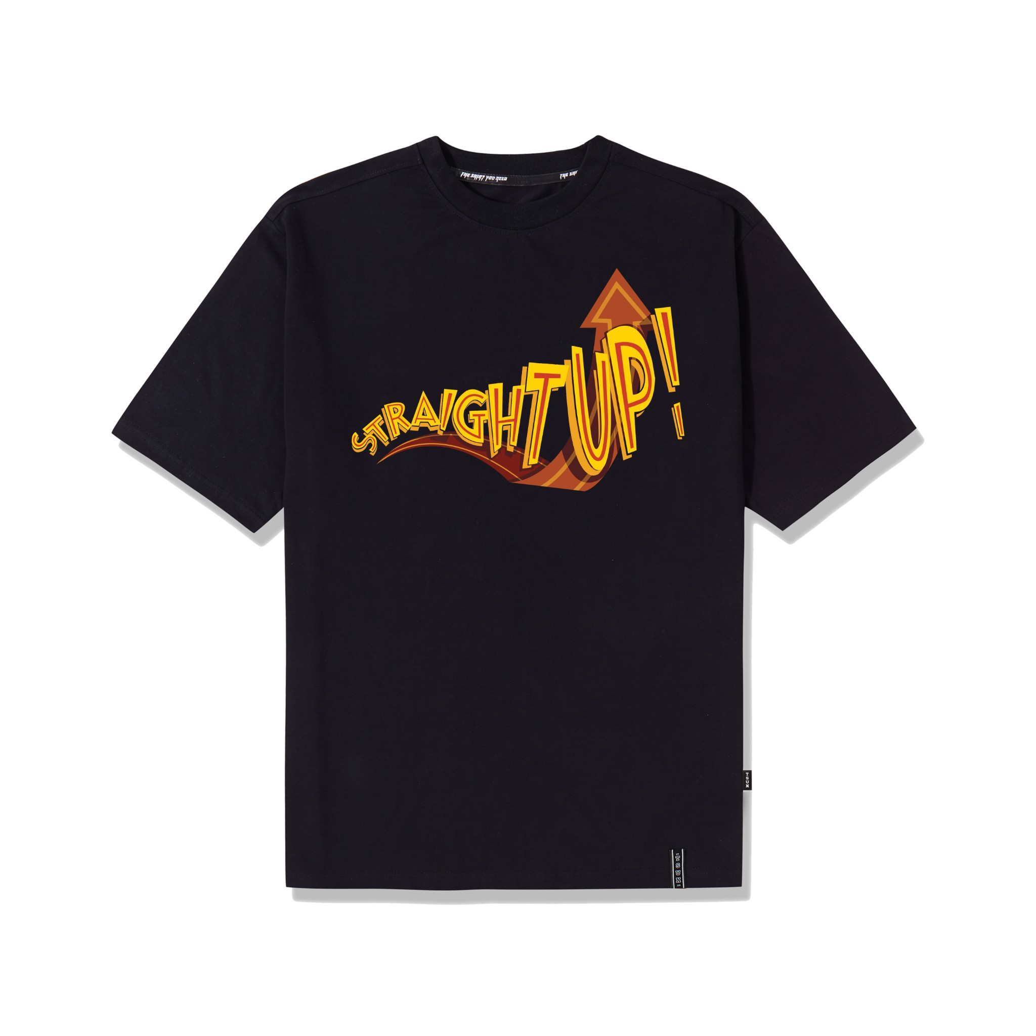 Straight Up Tee/Black