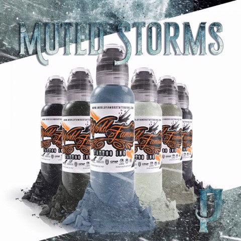 Poch Muted Storms Set 6 Chai-4oz