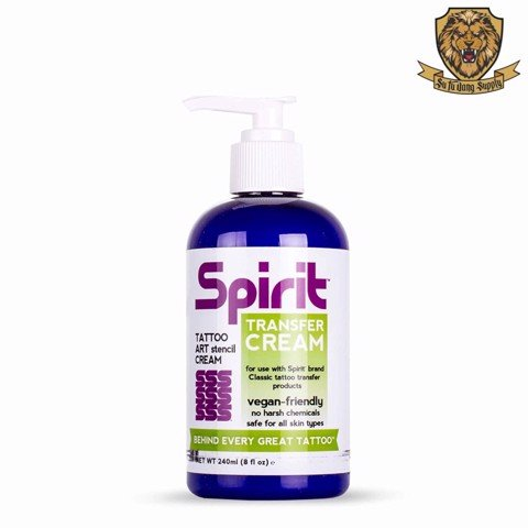SPIRIT TATTOO TRANSFER CREAM 8OZ