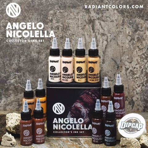 ANGELO NICOLELLA SET 12 COLOUR – 1OZ