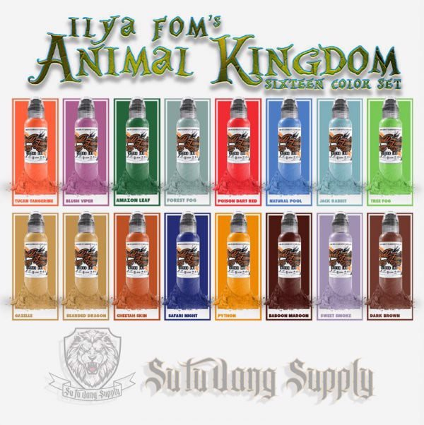 World Famous ILya Foms Animal Kingdom Set 1oz