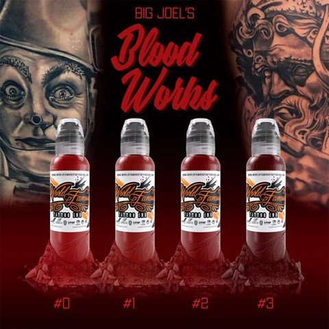 Big Joels Blood Works Color Set 4 Màu