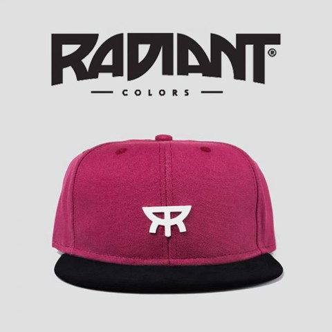 Mũ Snapback – Dark Red