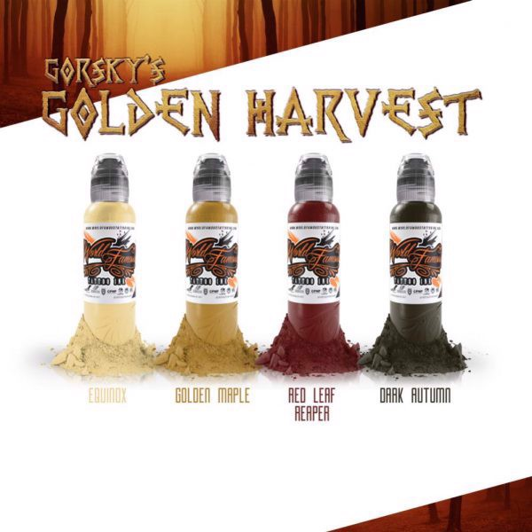 Gorsky's Golden Harvest Set 4 Mầu
