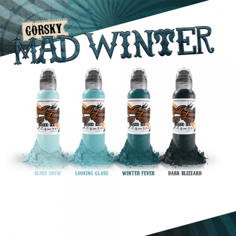 Gorsky's Mad Winter Set 4 Mầu-4oz