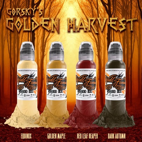 Gorsky's Golden Harvest Set 4 Màu