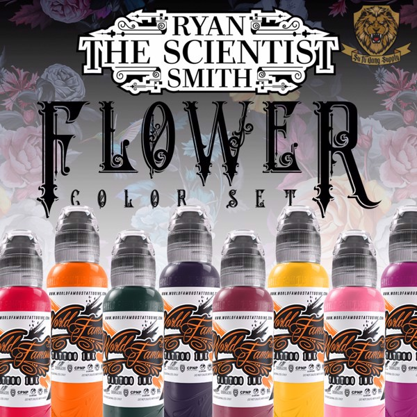RYAN SMITH - FLOWER SET 8 COLOR
