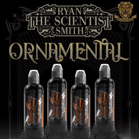Ryan Smith -Ornamental Ink Set