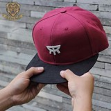 SNAPBACK HAT – DARK RED