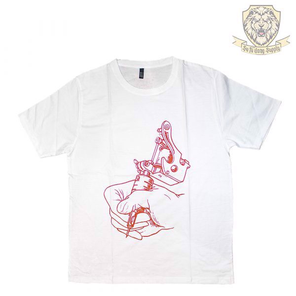 VIETNAM TATTOO EXPO  T-SHIRT - WHITE - RED