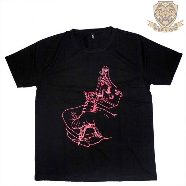 VIETNAM TATTOO EXPO  T-SHIRT - BACK - RED