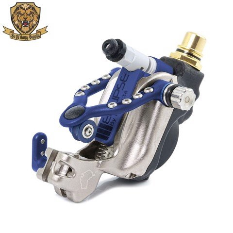 Inkjecta Eclipse Rotary Tattoo Machine - Black - Blue