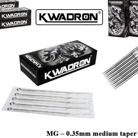 Kwadron 15 MG (M1) – 0.35mm Medium Taper (Hộp 50 Cây)