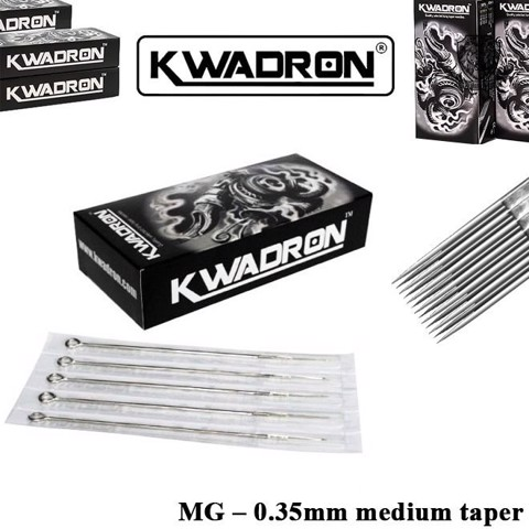 Kwadron 9 MG (M1) – 0.35mm Medium Taper (Hộp 25 Cây)