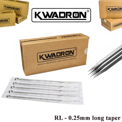 Kwadron RL – 0.25mm Long taper
