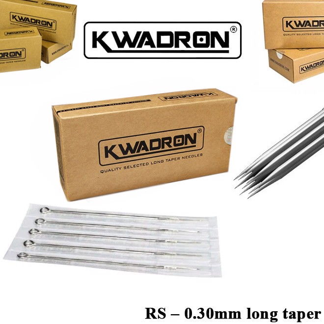 Kwadron RS – 0.30mm Long taper