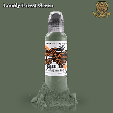 Lonely Forest Green