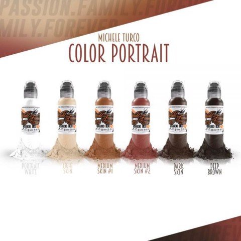 Michele Turco Color Portrait Set 6 Mầu-1oz