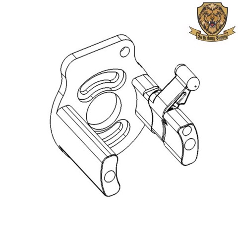 NO.75 - MOTOR BRACKET ASSEMBLY