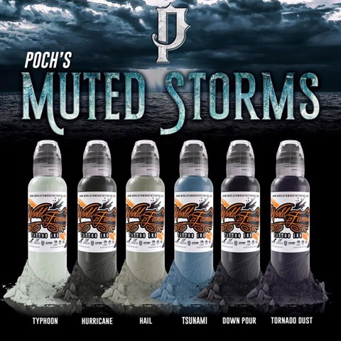 Poch Muted Storms Set 6 Chai