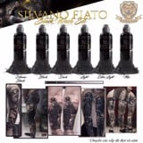 Silvano Fiato Black Wash Set 6 Chai