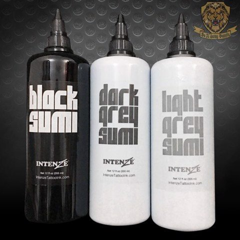 Black & Grey Sumi 12oz (SET 3 Chai)