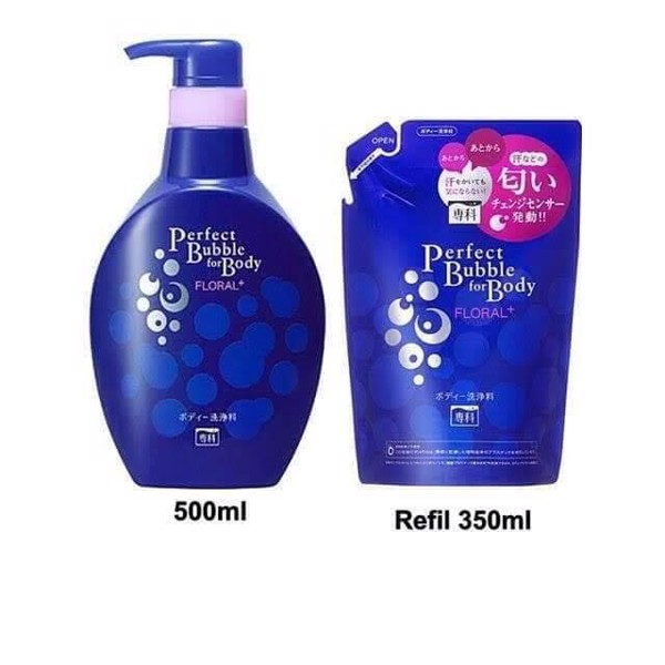 Set Sữa tắm SENKA Perfect Bubble for Body FLORAL+