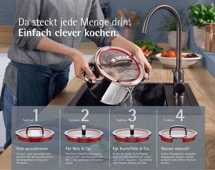 Bộ nồi WMF FUNCTION 4 - made in Germany