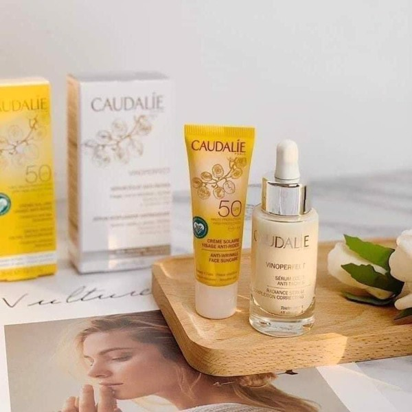 Caudalie Vinoperfect gift set