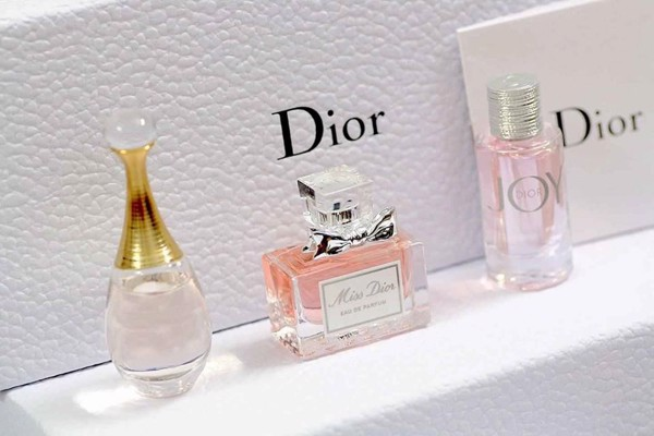 Gift set Dior 3 chai mini