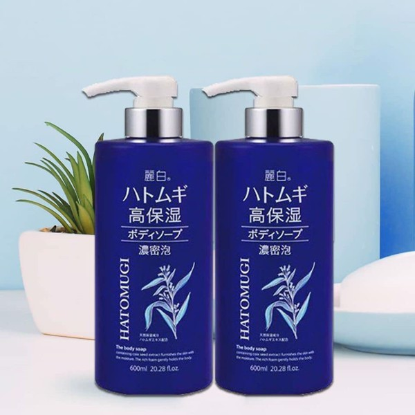 Sữa tắm Hatomugi The body Soap 600ml