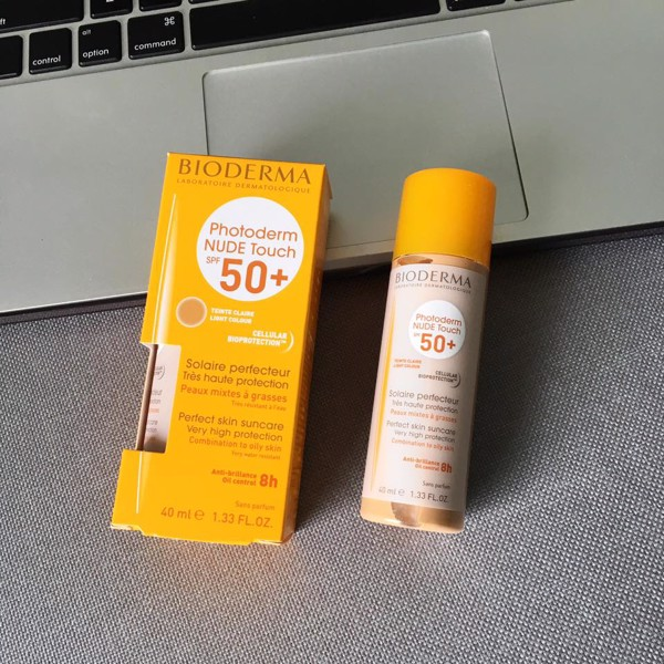 Kem chống nắng Bioderma Nude Touch SPF50+ 40ml