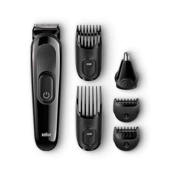 Bộ dụng cụ cắt tỉa Braun 6in1 Face&head Trimming Kit