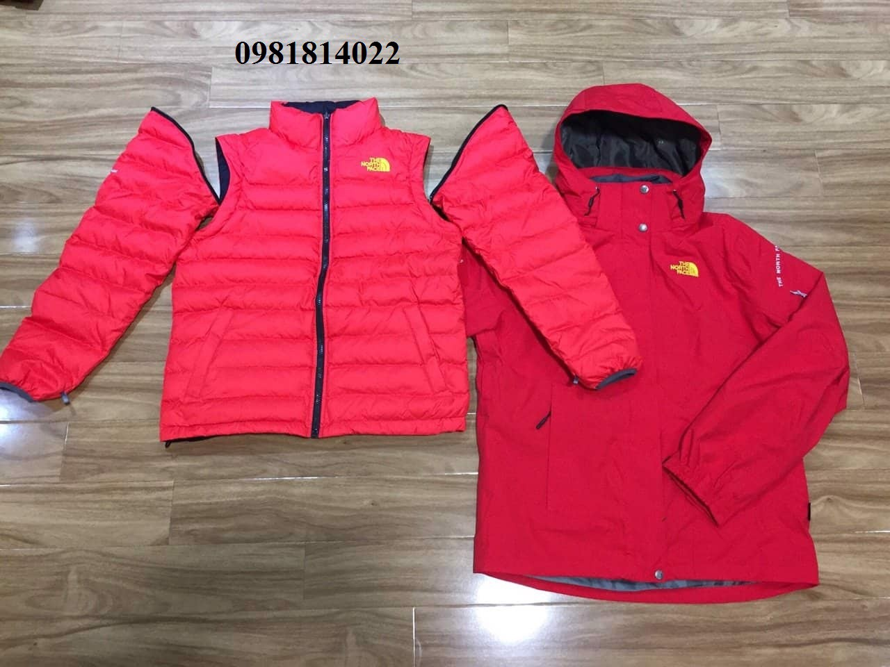 Áo khoác nữ THE NORTH FACE 5 in 1
