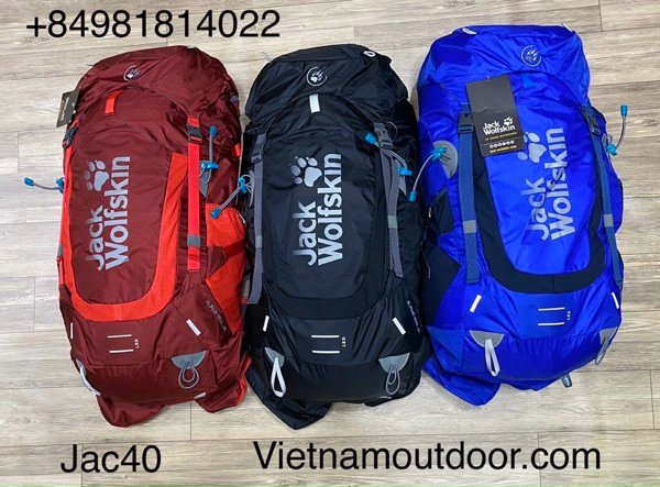 Balo Jack wolskin alpine trail 40L model 2021