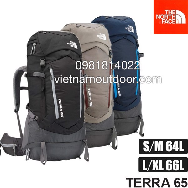 các mẫu  Balo The North Face Terra 65