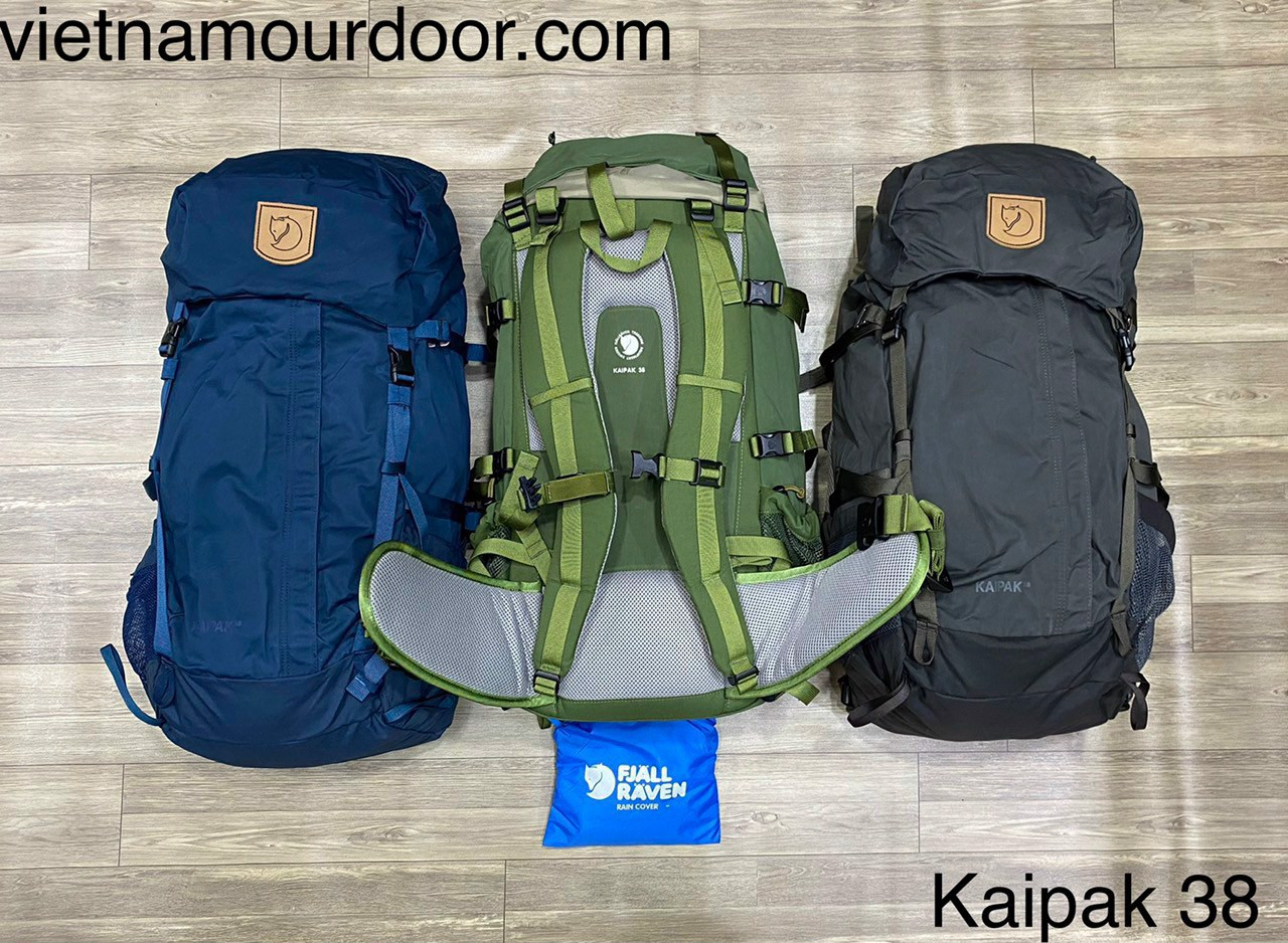 Balo Fjallraven Kaipak 38 hiking