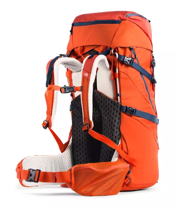 TNF Youth Terra 55 Backpacking Backpack