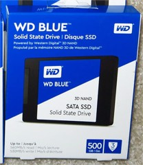 Ổ SSD Western Blue 500GB 3DNAND SATA3 (đọc: 560MB/s /ghi: 530MB/s)