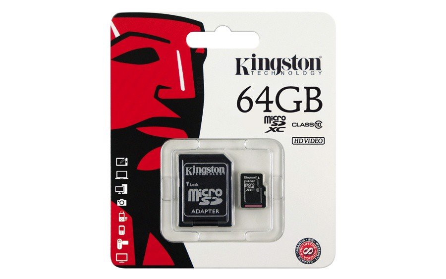 Thẻ nhớ Micro SD Kingston 64Gb Class 10