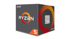 AMD Ryzen 5 1600 (Up to 3.6Ghz/ 19Mb cache) Ryzen