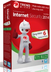 PM diệt virut Trendmicro Internet security (1PC/12T)
