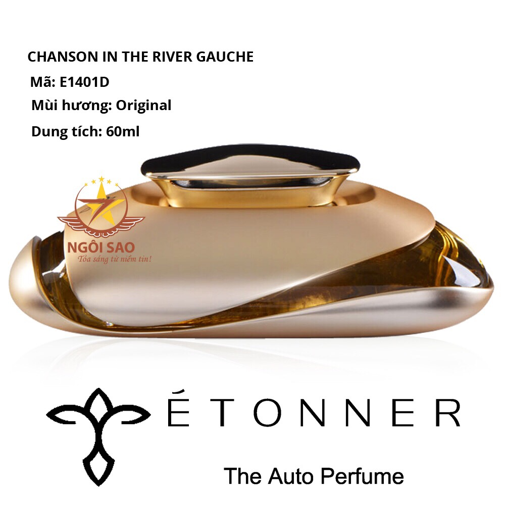 Nước hoa Pháp ETONNER Chanson in the Rive Gauche 60ml