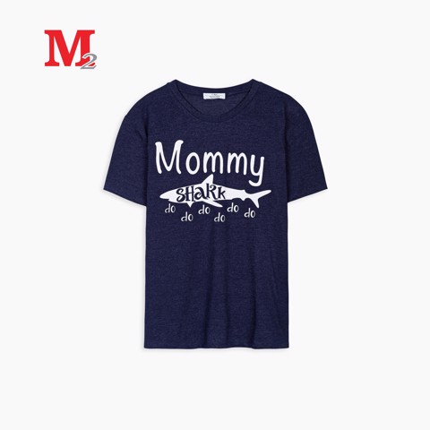 Tshirt nữ Mommy shark L T-rad 153